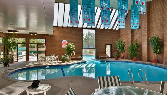Coast Wenatchee Center Hotel Indoor Pool