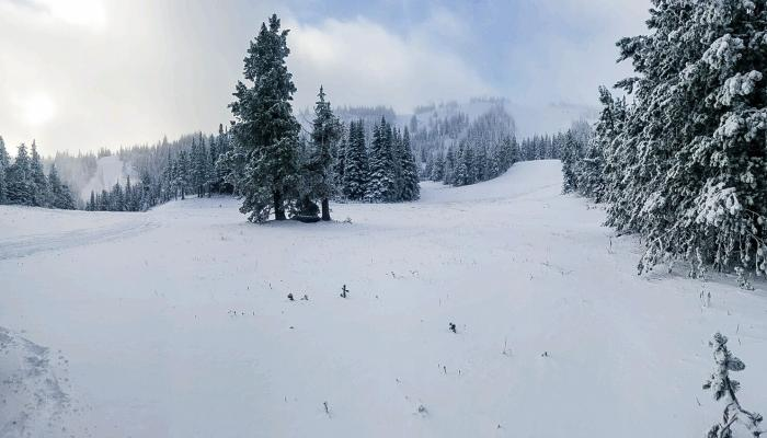 "2"" of new snow in the Upper Basin"